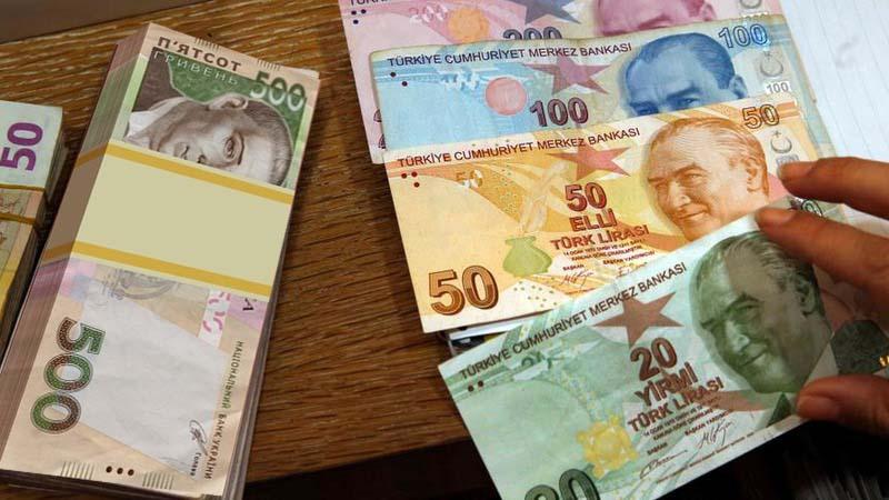 Курс обміну турецької ліра до гривні в Запоріжжі
